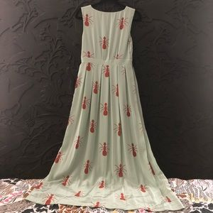 Anthropologie Dresses - 🦄 Anthropologie Fire Ants Maxi Dress, 6